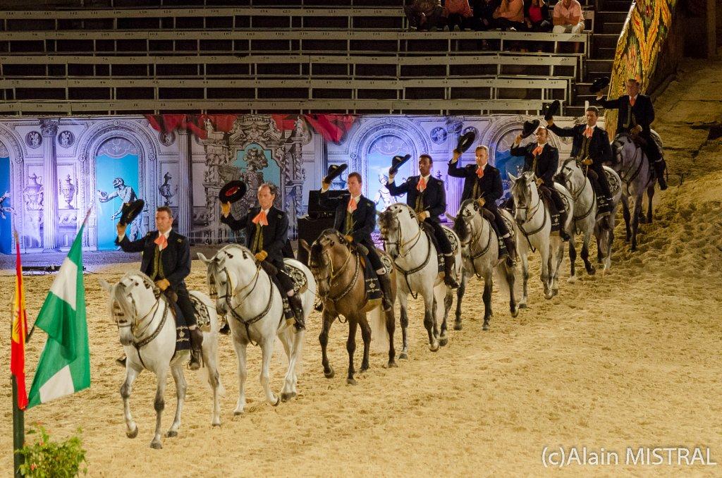 Ecole Royale Espagnole de Jerez à Arles été 2013